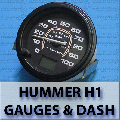 Hummer H1 Gauges and Dash Parts