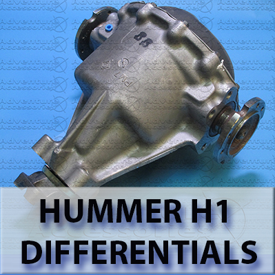 Hummer H1 AM General Differential Axle Parts
