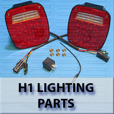 Hummer H1 AM General OEM and Upgrade Lighting