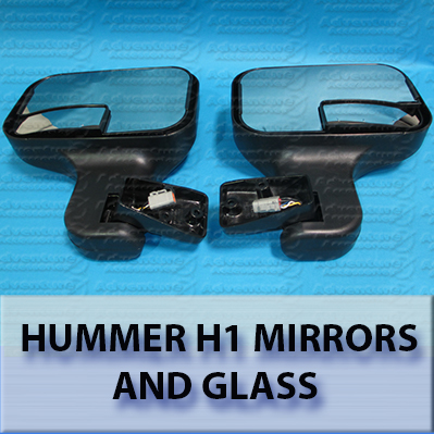 Hummer H1 Mirrors and Glass