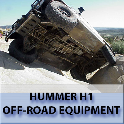 Hummer H1 recovery gear.