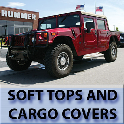 Hummer H1 Soft Tops and Cargo Covers