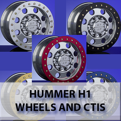 Hummer H1 Aftermarket Wheels and Tires