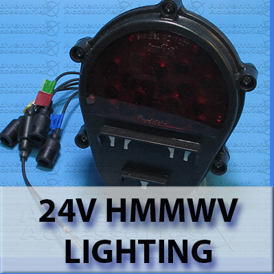 AM General HUMVEE 24V Electrical Lighting Parts